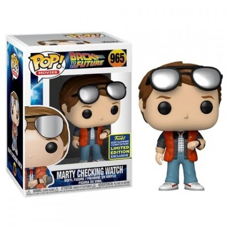 Funko Pop Marty Checking Watch Sdcc 2020-Back to the Future-965