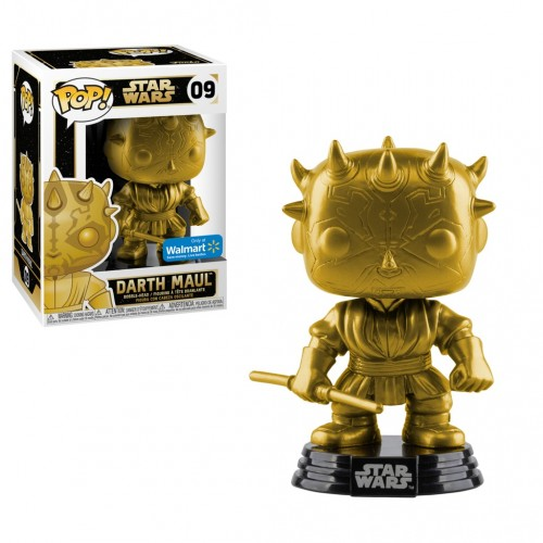 Funko Pop Darth Maul Gold - Walmart-Star Wars-9