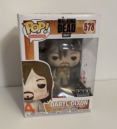 Funko Daryl Prison Suit Exclusivo Fye-The Walking Dead-578
