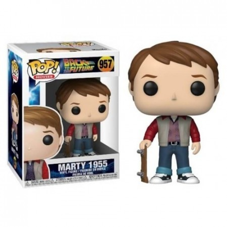 Funko Pop De Volta Para O Futuro - Back To The Future - Marty 1955-De Volta Para O Futuro-957