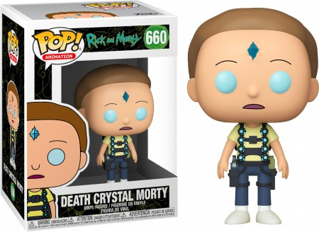 Funko Pop Rick And Morty - Death Crystal Morty-Rick and Morty-660