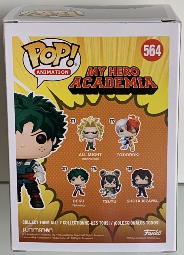 Deku - My Hero Academia - Funko Pop! Hot Topic - My Hero Academia - #564