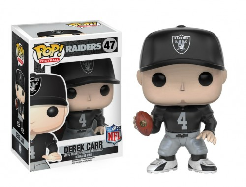 Funko Pop Derek Carr (raiders)-NFL-47