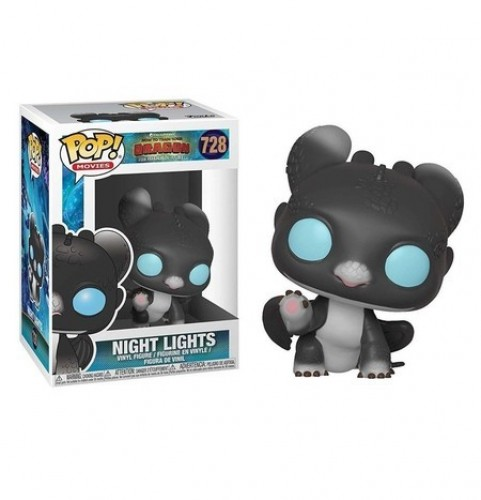 Funko Pop Disney Como Treinar Seu Dragão - Nigth Lights-Disney-728