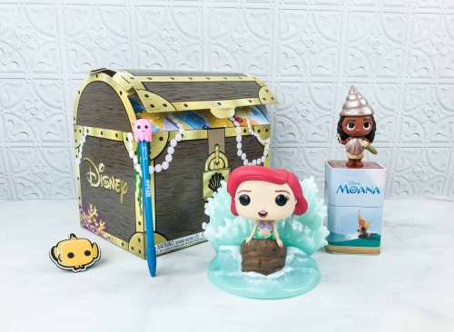 Funko Disney Treasures Under The Sea Hot Topic-A Pequena Sereia-416