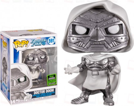 Funko Pop Doctor Doom Exclusivo Eccc-Fantastic Four-591