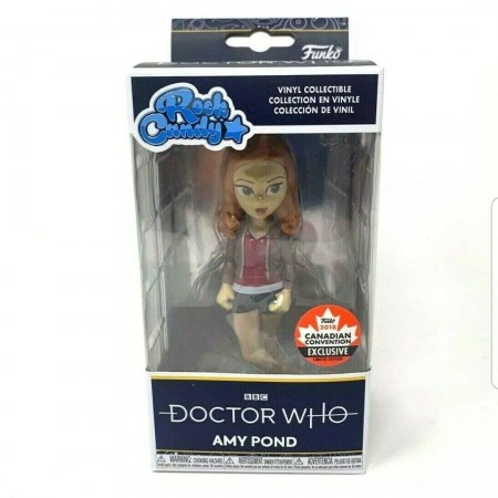 Doctor Who - Amy Pond - Rock Candy Funko Exclusivo Bbc-Doctor Who-1