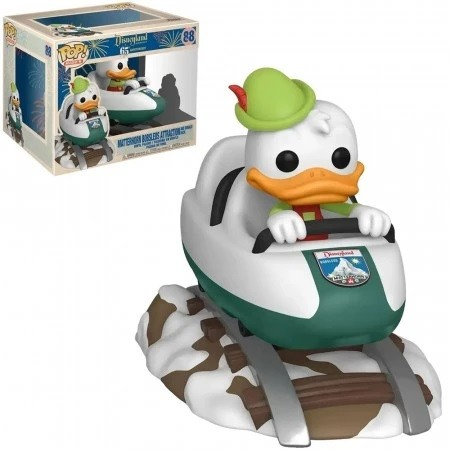 Funko Pop Donald Duck On Matterhorn Bobsleds Attraction-Disneyland 65th Anniversary-88