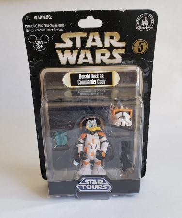 Action Figures Donald Duck As Commander Cody Star Wars-Star Wars-