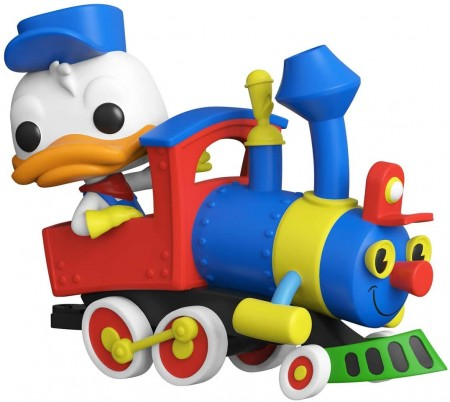 Funko Pop Donald Duck On The Casey Jr. Circus Train Attraction-Disneyland 65th Anniversary-1