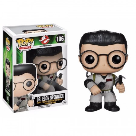 Funko Pop Dr. Egon Spengler-Ghostbusters-106