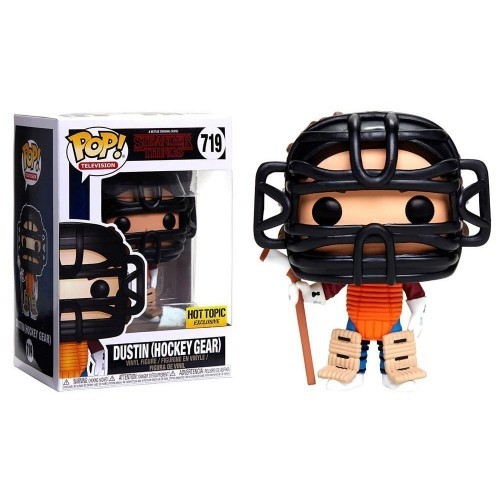 Funko Dustin (hockey Gear) - Hot Topic - Stranger Things - #719
