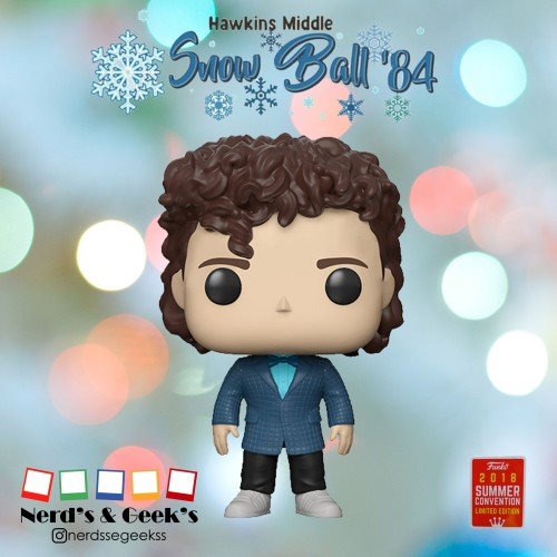 Funko Dustin Snowball Dance Exclusivo Sdcc 2018-Stranger Things-617