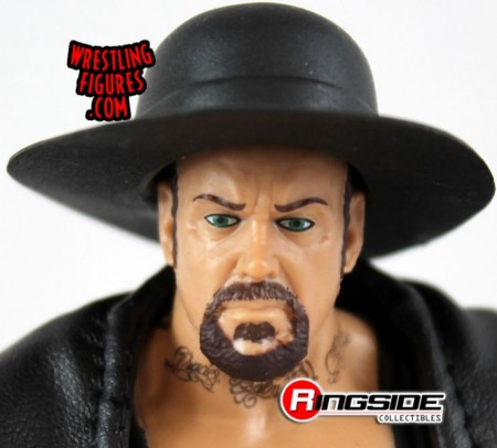 Action Figures Wwe The Undertaker Com Chapeu E Manto Mattel Elite Frete Gratis-WWE-