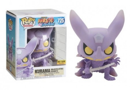 "Funko Pop! Naruto: Kurama Majestic Attire Susano'o 6"" Hot Topic-Naruto Shippuden-725"