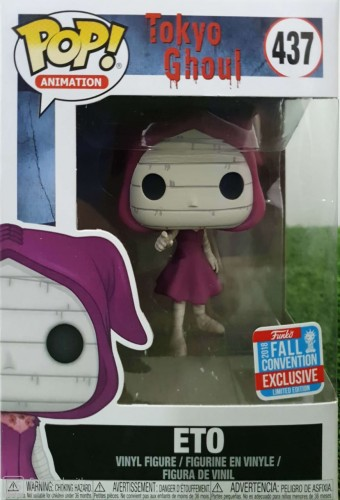 Funko Pop Eto (tokyo Ghoul) Fall Convention - Tokyo Ghoul - #437