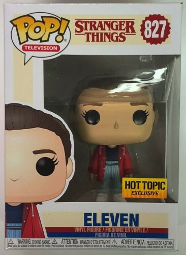 Eleven - Stranger Things - Funko Pop! Exclusivo Hot Topic-Stranger Things-827