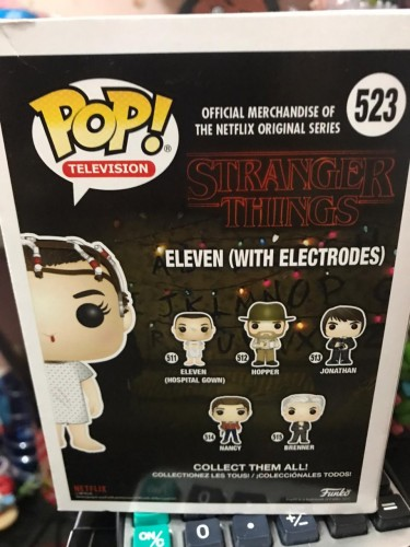 Funko Pop! Stranger Things: Eleven ( With Electrodes) - Fall Convention Exclusive 2017 - Stranger Things - #523