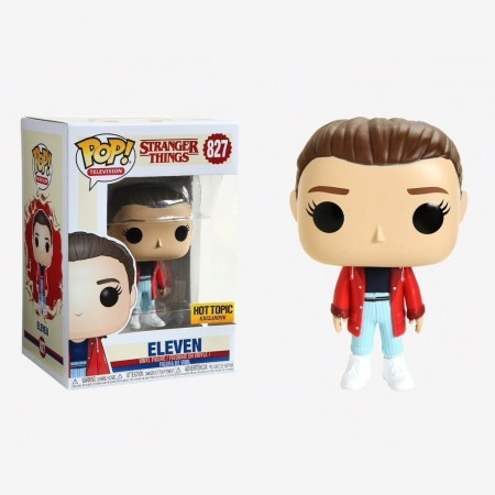 Funko Pop Eleven (hot Topic)-Stranger Things-827