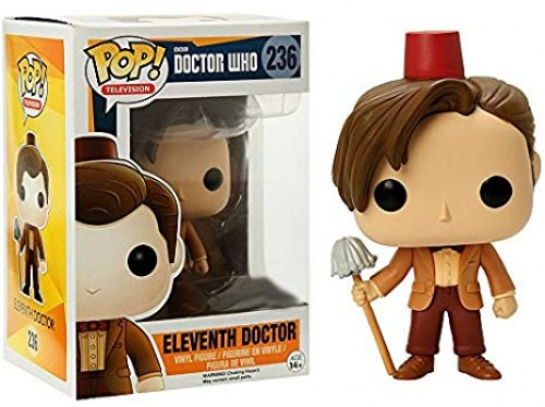Funko Eleventh Doctor (fez & Mop)-Doctor Who-236