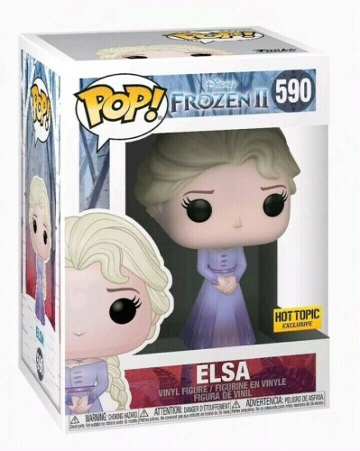 Elsa - Frozen 2 - Disney - Funko Pop! Exclusivo Hot Topic-Frozen II-590