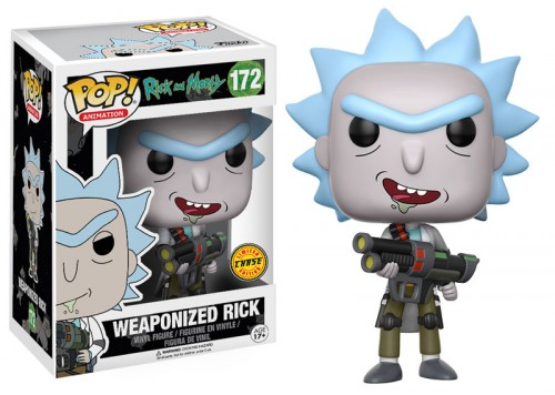 Funko Pop! Animation: Rick & Morty - Weaponized Rick-Rick and Morty-172