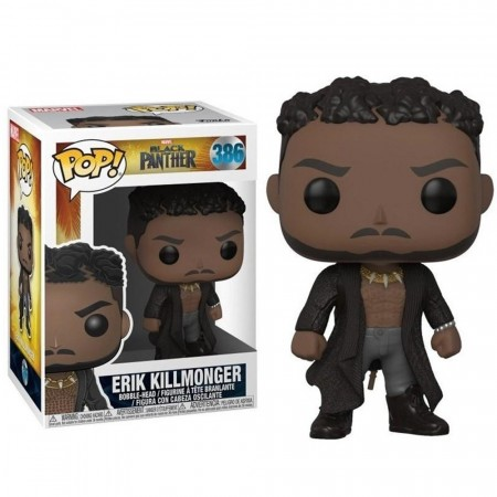 Funko Pop Black Phanter Black Erik Killmonger-Pantera Negra-386