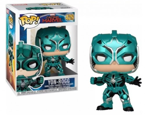 Funko Pop Captain Marvel Yon-rogg 429-Marvel Studios-429