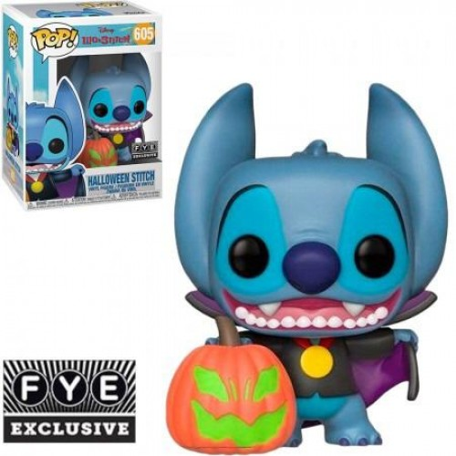 Funko Pop Disney Lilo & Stitch Halloween Stitch EdiÇÃo Especial-Disney-605