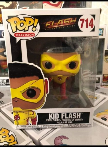 Funko Pop Flash Kid Flash-DC-714