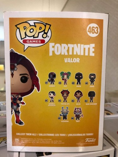 Funko Pop Fortnite Valor - Fortnite - #463