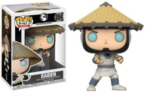 Funko Pop Games Mortal Kombat X Raiden - Mortal Kombat - #254