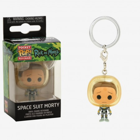 Chaveiro Funko Pop Keychain Space Suit Morty - Rick And Morty - #
