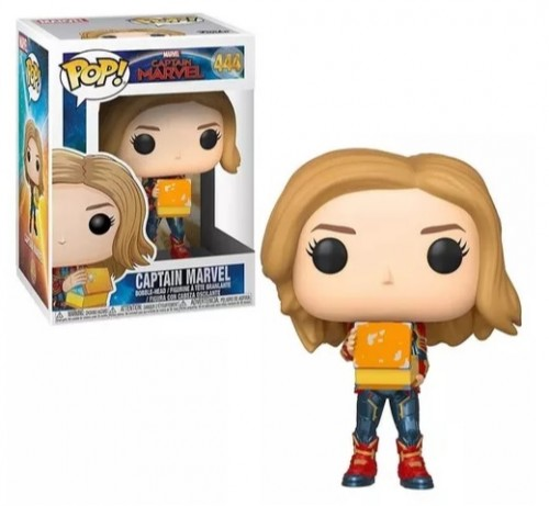 Funko Pop Marvel Captain Marvel 444-captain marvel-444