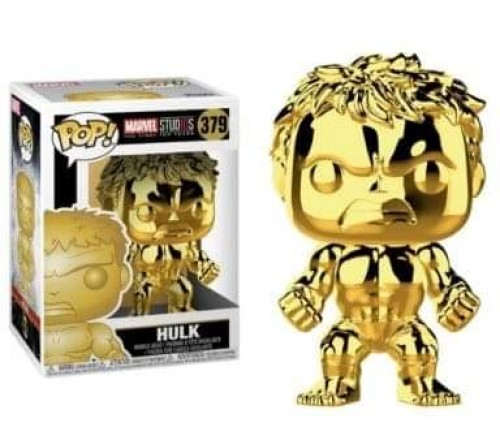 Funko Pop Marvel Studios The First Ten Years Hulk Gold Chrome-Marvel Studios-379