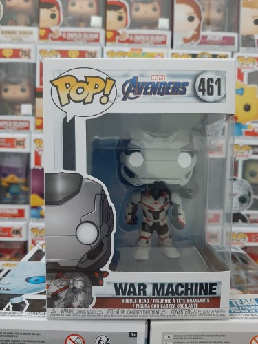 Funko Pop Marver Avengers War Machine 461 - marvel - #461