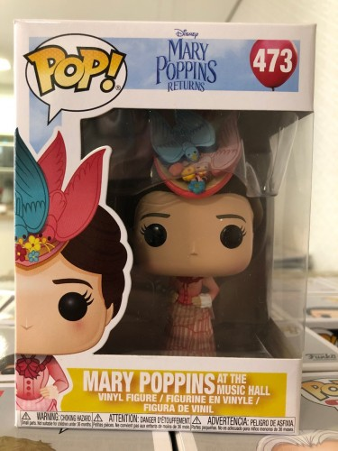 Funko Pop Mary Poppins-Mary Poppins-473