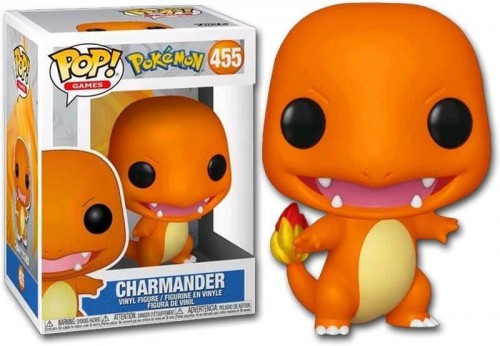 Funko Pop Pokemon Charmander-Pokemon-455