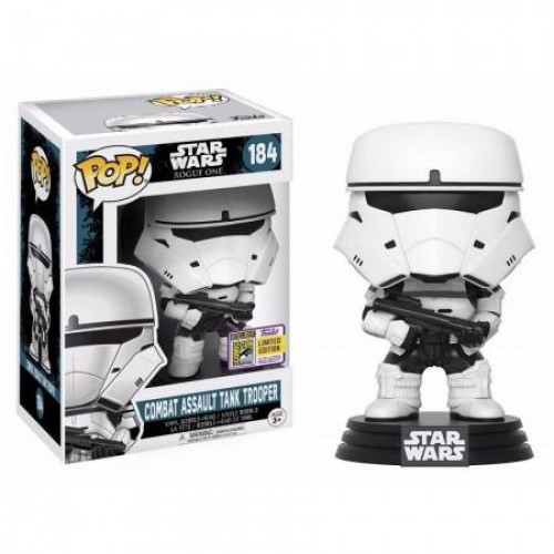 Funko Pop Star Wars Combat Assaut Tank Trooper EdiÇÃo Exclusiva-STAR WARS ROGUE ONE-184