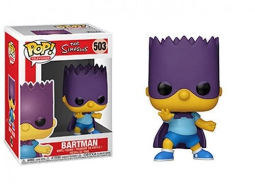 Funko Pop Television The Simpsons Bartman-Os Simpsons-503