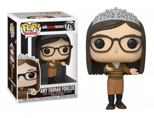 Funko Pop The Big Bang Theory Amy Farrah Fowler 779-The Bing Bang Theory-779