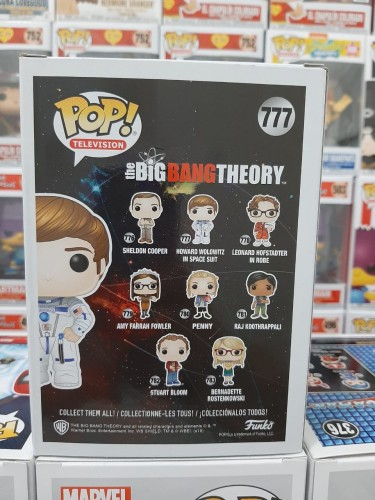 Funko Pop The Big Bang Theory Howard Wolowitz 777 - The Bing Bang Theory - #777