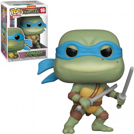 Funko Pop Turtles Ninja Leonardo-As Tartarugas Ninjas-16