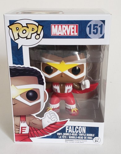 Falcon Falção Funko Pop-marvel-151