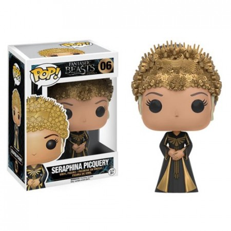 Fantastic Beasts Where To Find Seraphina Funko Pop!-Animais Fantásticos-6