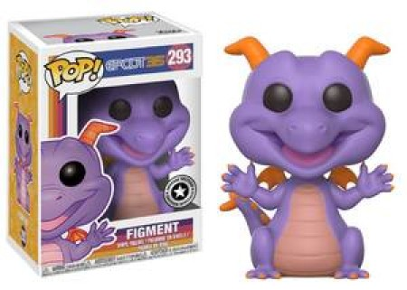 Funko Pop Figment Exclusive Disney Park-Disney-293