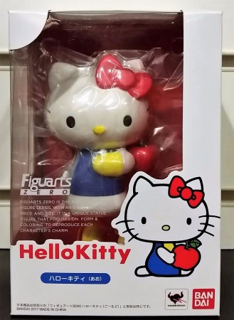 Action Figures Figuartszero - Hello Kitty (blue) - Bandai-Hello Kitty-