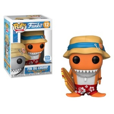 Funko Pop Fin Du Chomp (orange)-Funko-12