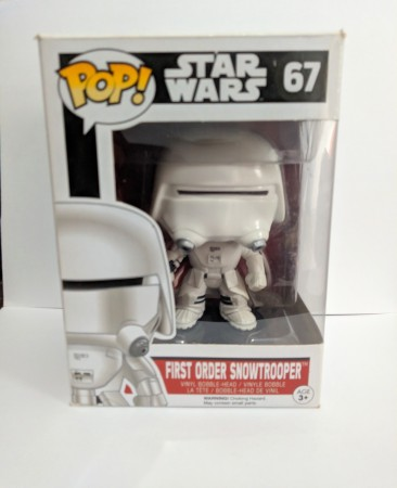 Funko Pop First Order Snowtrooper-Stars Wars-67