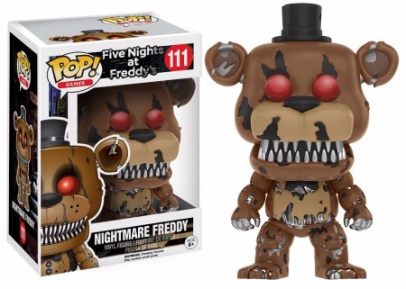 Five Nights At Freddy - Fnaf - Nightmare Freddy #111 Funko Pop-Five Nights At Freddy's-111